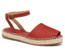 Mariné N5343 Espadrilles in rot