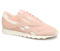 Classic Nylon Mesh Sneaker in rosa