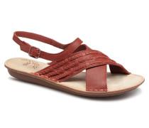 Zigzags Sandalen in rot