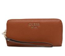 VICKY LARGE ZIP AROUND Portemonnaies & Clutches für Taschen in braun