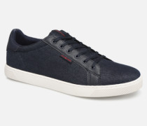 Jack & Jones Jfwtrent Denim Combo Sneaker in blau