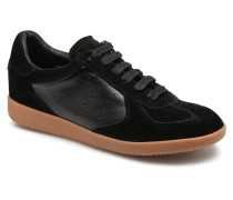 Li Lace up Sneaker in schwarz