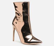 Wagner Ankle Boot Stiefeletten & Boots in goldinbronze