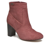 Dylan Basic Snake Stiefeletten & Boots in weinrot