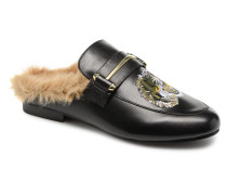 KingP Mule Clogs & Pantoletten in schwarz