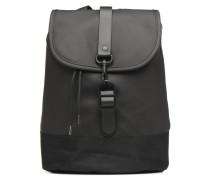 Drawstring Backpack Rucksäcke für Taschen in schwarz