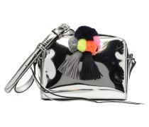 Mini Sofia Crossbody Handtasche in silber