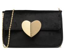 Love Crossbody Bag Handtasche in schwarz