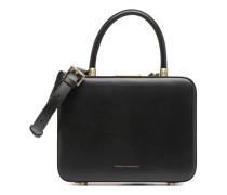 Vanity Box Handtasche in schwarz