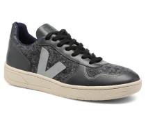 V10 FLANNEL Sneaker in grau