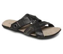Sparto Sandalen in schwarz