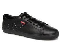 Levi's Woods W Sneaker in schwarz