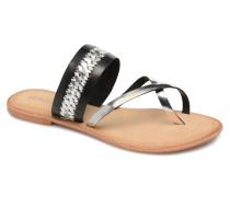 Timo leather sandal Sandalen in schwarz