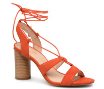 Brune Sandalen in orange