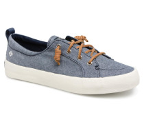 Crest Vibe Crepe Chambray Sneaker in blau