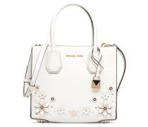 MERCER MD MESSENGER Handtasche in weiß