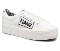 PLATO SNEAKER TWILLinPATCH Sneaker in weiß