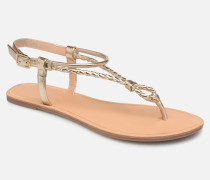 onlMARGIT BRAIDED ANKEL SANDAL Sandalen in goldinbronze