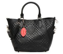 CLAUDIA FLORIDA Handtasche in schwarz