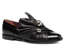 Rosa Slipper in schwarz