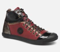 Banjou C Sneaker in weinrot