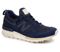 MS574 Sneaker in blau