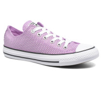 Chuck Taylor All Star Ox Snake Woven Sneaker in lila