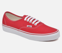 Authentic Sneaker in rot