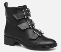 ONLBRIGHT BUCKLE PU BOOTIE 15184283 Stiefeletten & Boots in schwarz