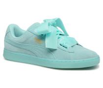 Suede Heart Reset Wn's Sneaker in blau