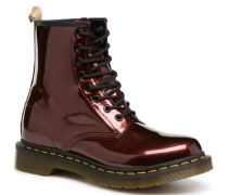 1460 Vegan Chrome Stiefeletten & Boots in weinrot