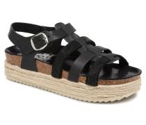 48072 Sandalen in schwarz