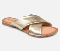 48803 Clogs & Pantoletten in goldinbronze