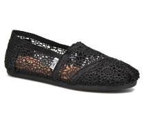 Alpargata Sneaker in schwarz