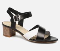 Lucroisa Sandalen in schwarz