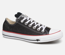 Chuck Taylor All Star Sucker for Love Ox Sneaker in schwarz