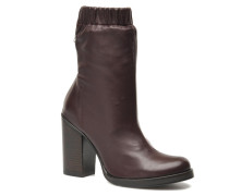 Lucie Mid Boot Stiefeletten & Boots in weinrot