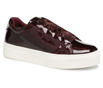 CRESS Sneaker in weinrot