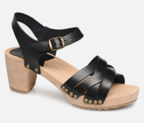 Satine Sandalen in schwarz