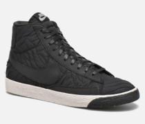 Wmns Blazer Mid Prm Se Sneaker in schwarz