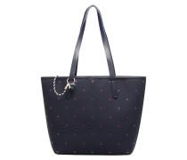 Alison Dot Shopper Handtasche in blau