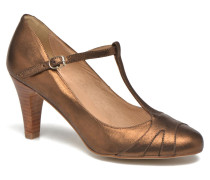LanosainMet Pumps in goldinbronze