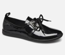Stone One W Glossy Sneaker in schwarz