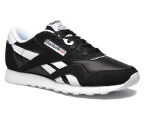 Classic Nylon Sneaker in schwarz