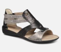 Oda 6769 Sandalen in schwarz