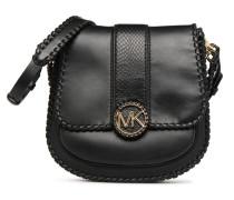 LILLIE MD FLAP MESSENGER Handtasche in schwarz