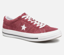 One Star Ox M Sneaker in weinrot