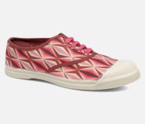 Tennis Losanges Sneaker in rosa
