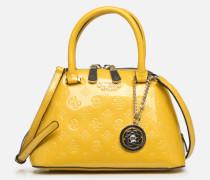 PEONY SHINE SMALL DOME SATCHEL Handtasche in gelb