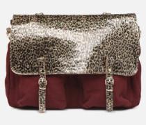 MAXI MATHS Handtasche in weinrot